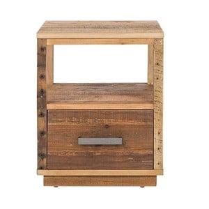 Szafka nocna z drewna sosnowego Woodking Canterburry