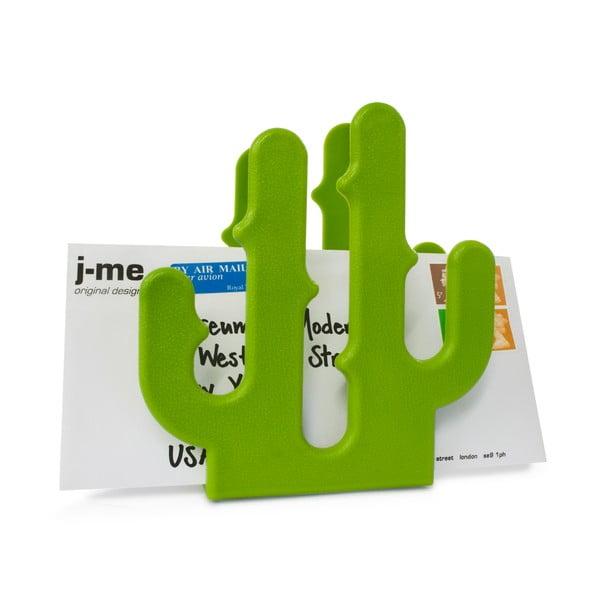 Stojaczek na listy Cactus, zielony