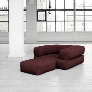 Fotel rozkładany Karup Cube Brown