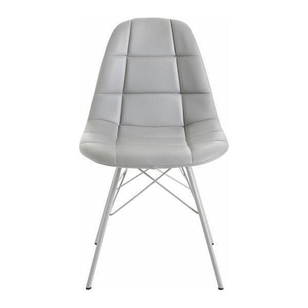 Zestaw 2 szarych krzeseł Støraa Sting