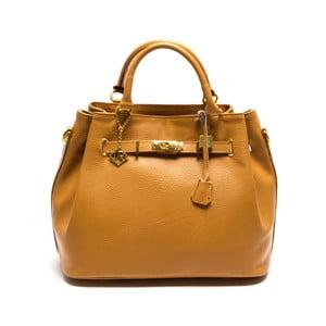 Skórzana torebka Isabella Rhea 183 Cognac