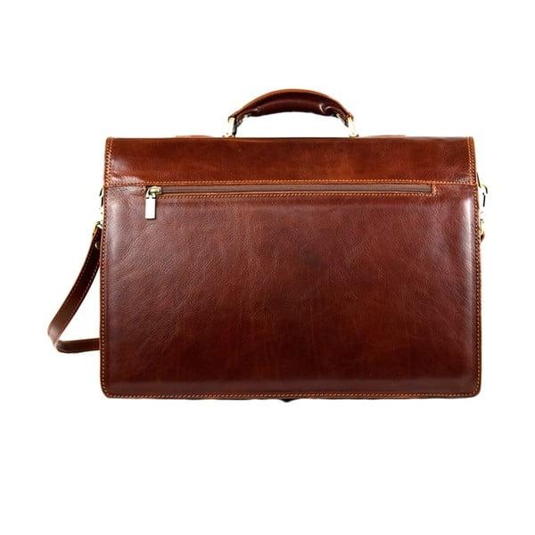Skórzana torba Santo Croce VL8243 Brown