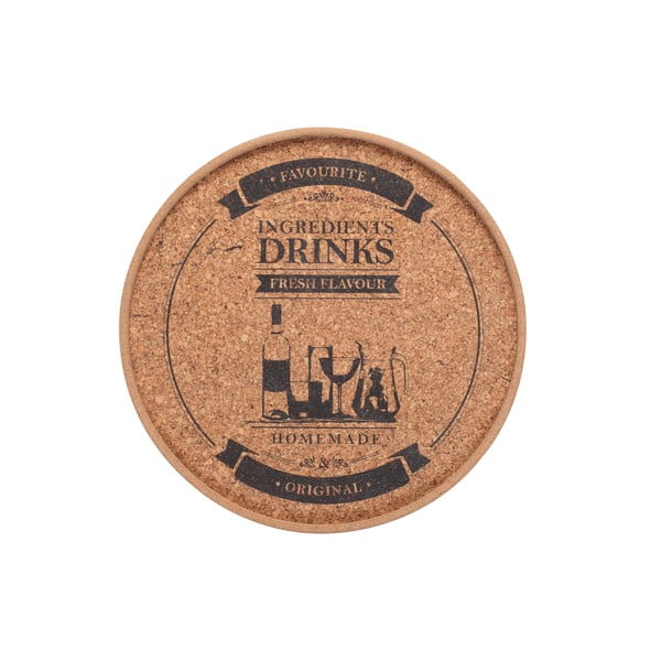 Korkowa mata stołowa Drinks