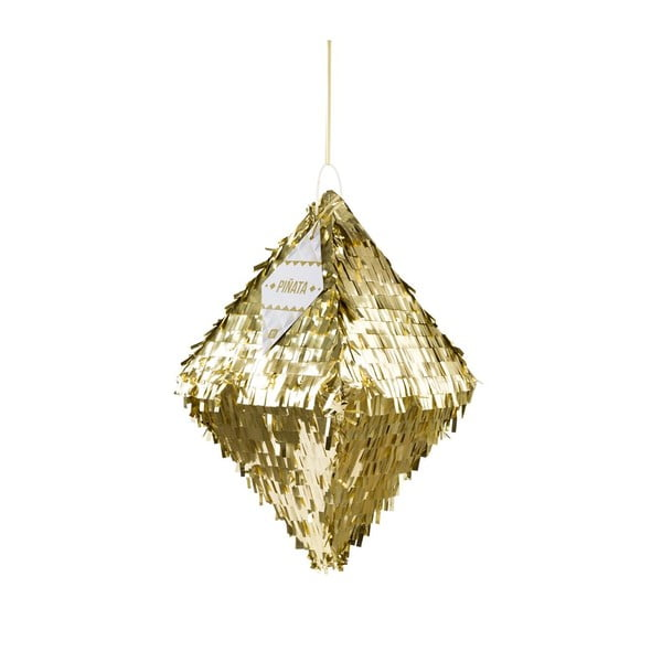 Papierowa dekoracja Metalic Gold Pinata