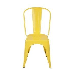 Krzesło Silla Metal Amarilla