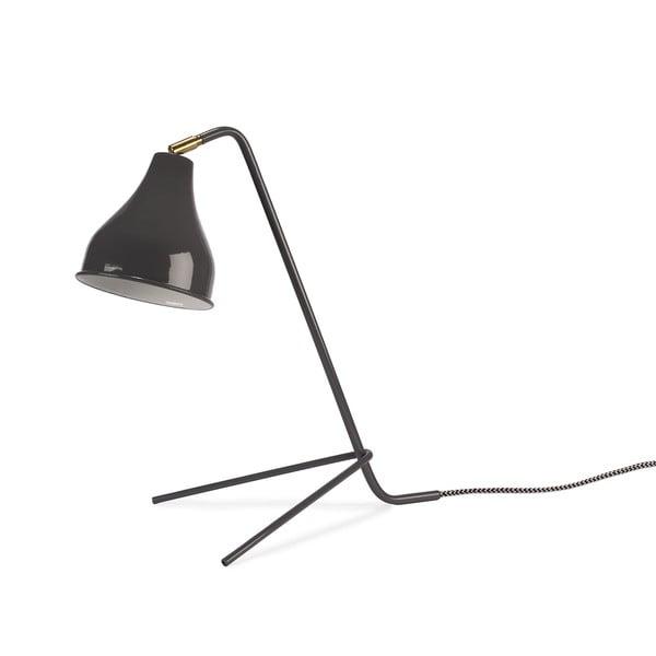 Szara lampa stołowa HF Living Airy