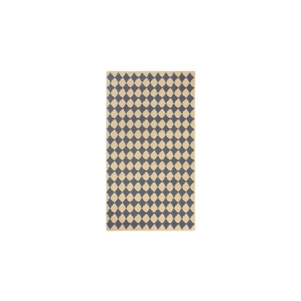 Dywan wełniany Oslo no.3, 140x200 cm, szary