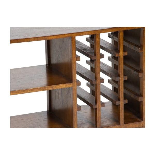 Regał na wino z drewna mindi Santiago Pons Abirad