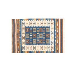 Dywan ręcznie tkany Kilim Dalush 002, 90x60 cm