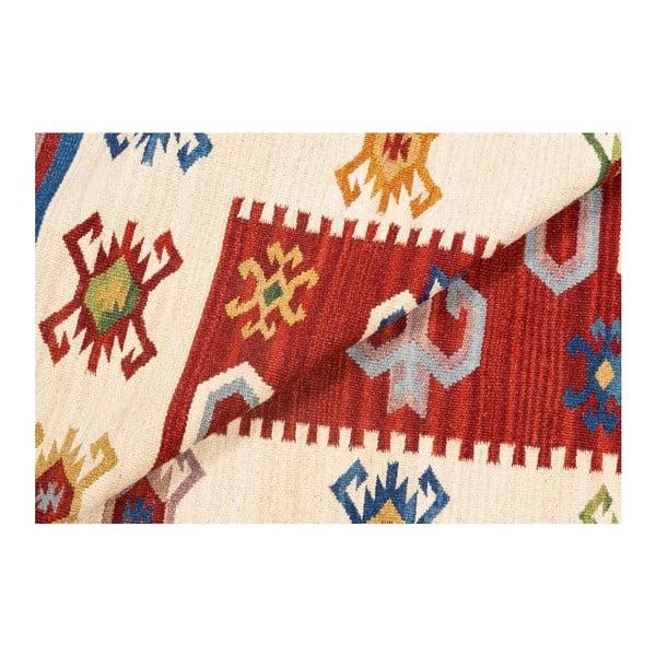 Dywan ręcznie tkany Kilim Dalush 201, 150x90 cm