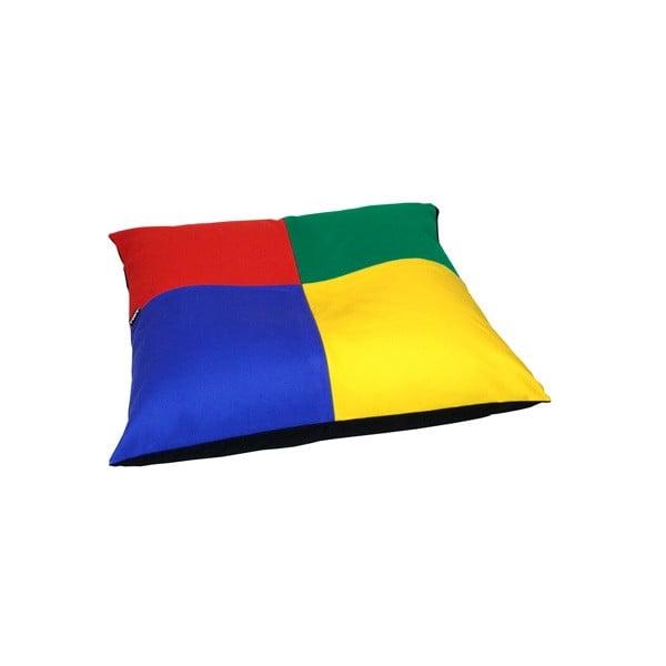 Poduszka do siedzeniaLona Puff 80x20 cm, wielokolorowa
