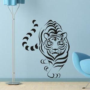 Naklejka ścienna Tygrys, czarna
