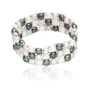 Bransoletka Nova Pearls Copenhagen Olla Silver/Blue