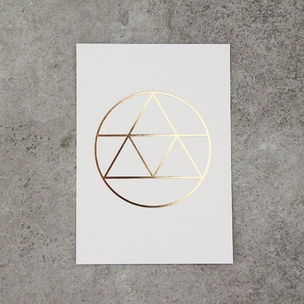 Zestaw  3 kartek na życzenia SNUG.Golden
