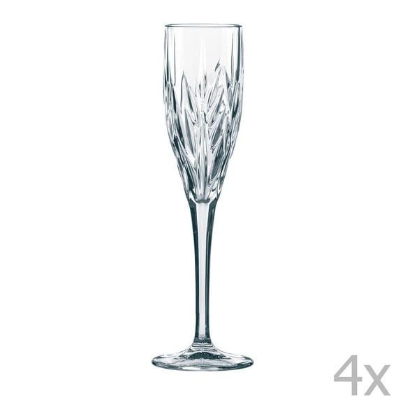 Zestaw 4 kieliszków do szampana ze szkła kryształowego Nachtmann Imperial Sparkling, 140 ml