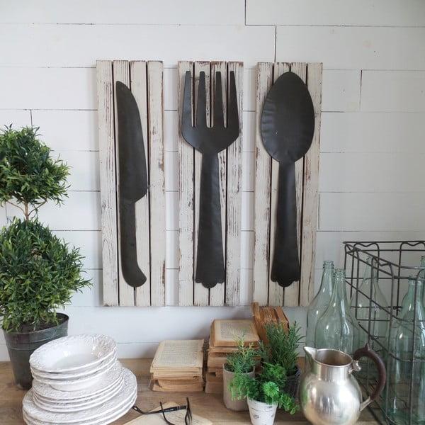 Zestaw 2 ściennych dekoracji Country Kitchen