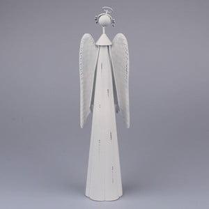 Dekoracyjny biały anioł Dakls