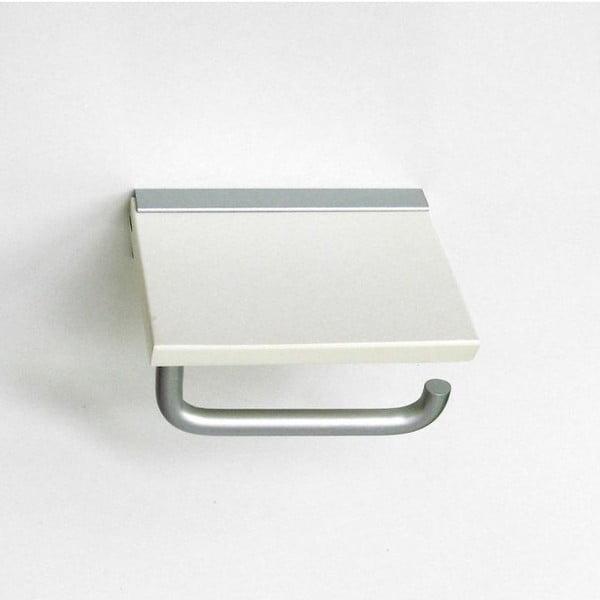 Uchwyt na papier toaletowy White, 15x9x14 cm