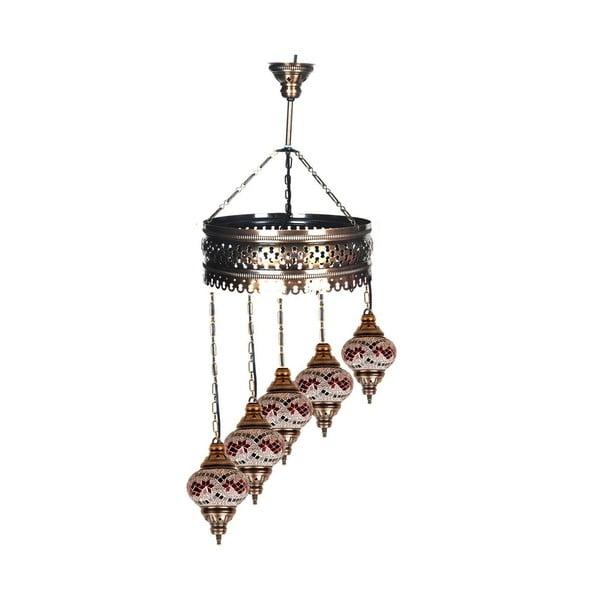 Szklana lampa Fishing XVII