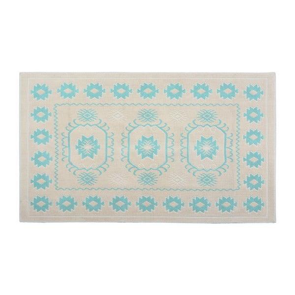Dywan Marali Turquoise Cream, 100x200 cm