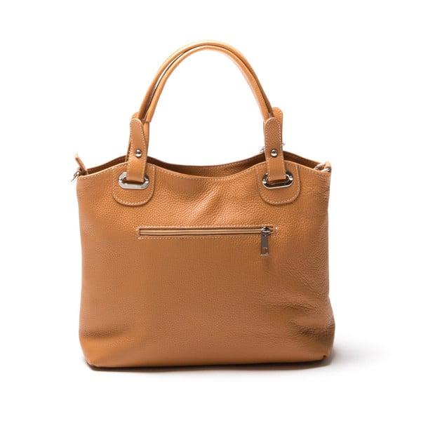 Skórzana torebka Luisa Vanini 1103 Cognac