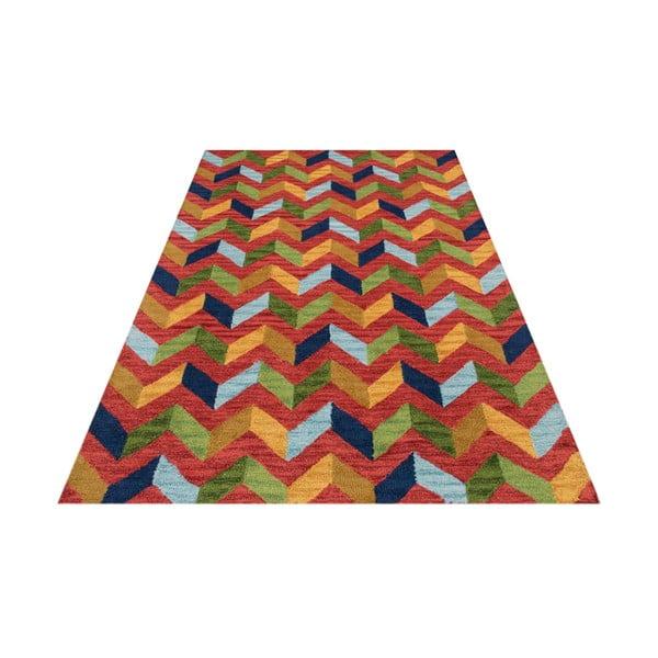 Czerwony dywan tuftowany ręcznie Bakero Wimbledon, 170x240 cm