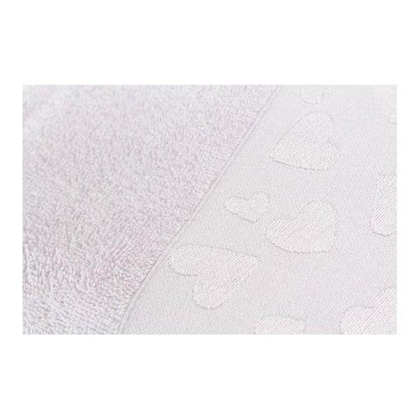 Zestaw 2 ręczników Kalp Lilac, 50x90 cm