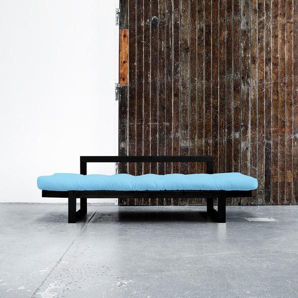 Sofa Karup Edge Black/Celeste