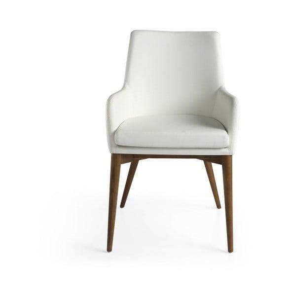 Białe krzesło Ángel Cerdá Yadira