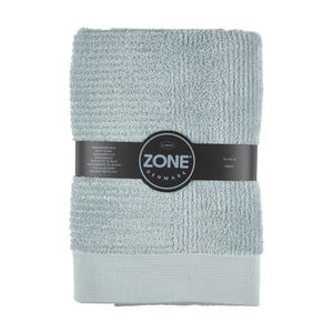 Szaro-zielony ręcznik Zone,140x70cm
