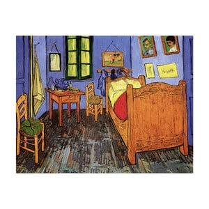 Obraz Vincenta van Gogha - Vincent's Bedroom in Arles, 50x40 cm
