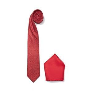 Zestaw krawata i poszetki Ferruccio Laconi 6