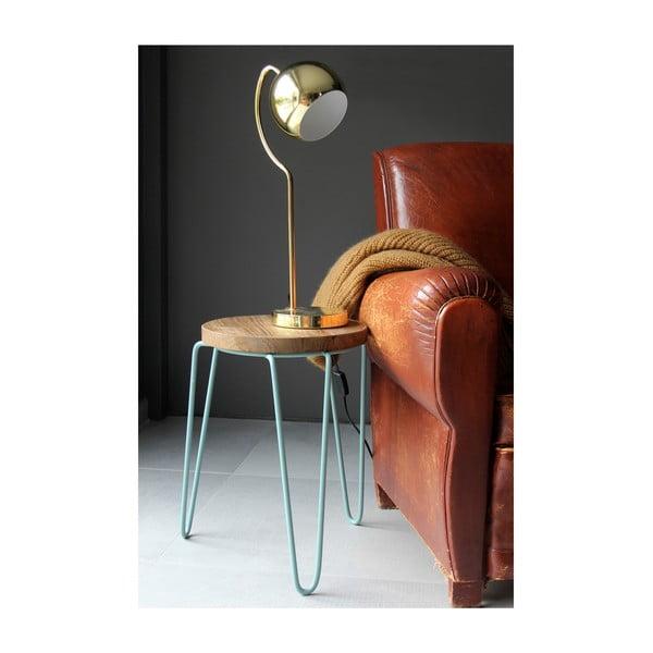 Złota lampa stołowa Red Cartel Shabby