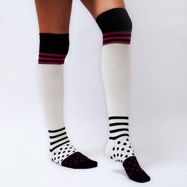 Zakolanówki Polka Stripes, rozmiar 36-40