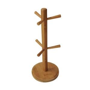 Bambusowy stojak na kubki Bambum Fuchia