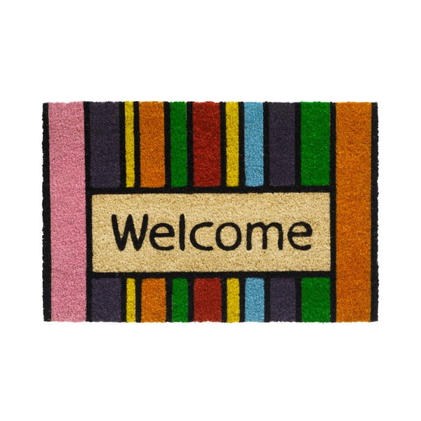 Wycieraczka Hamat Welcome in Stripes, 40x60 cm