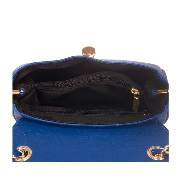 Niebieska torebka skórzana Andrea Cardone Daniela