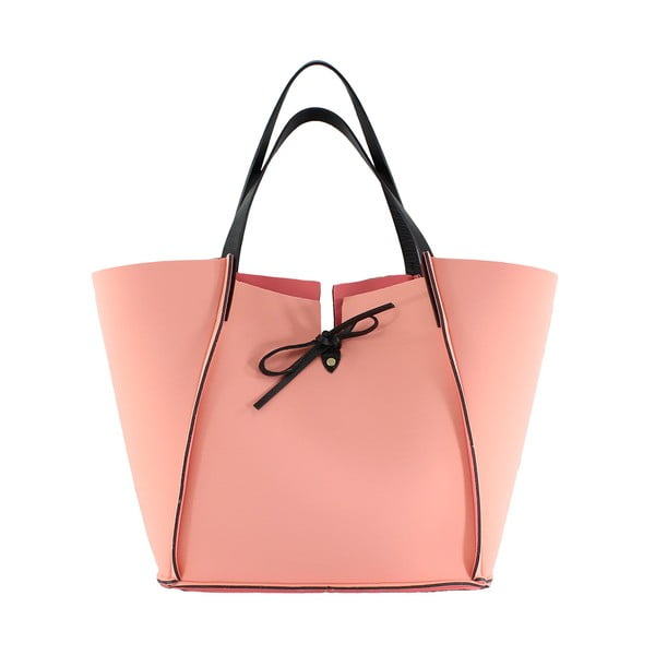 Neoprenowa torebka Fiertes, różowa