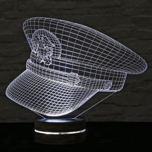 Lampa 3D stołowa Captain