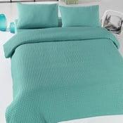 Lekka narzuta na łóżko Pique Bürümcük Green, 200x240 cm