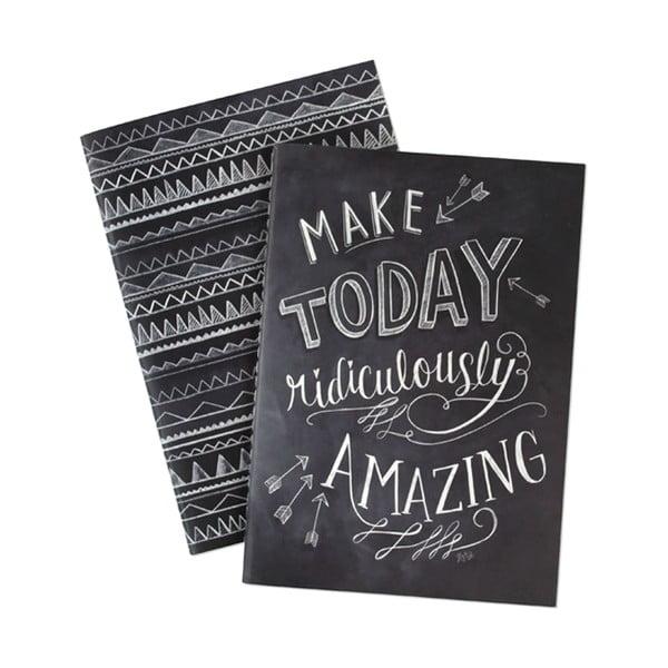 Zestaw 2 notatników Lily and Val by Portico Designs