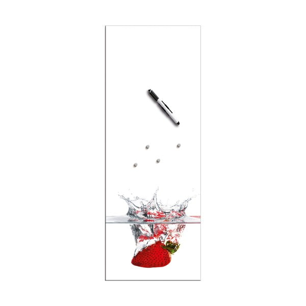 Tablica magnetyczna Eurographic Splash, 30x80 cm
