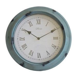 Zegar ścienny Retro, niebieski