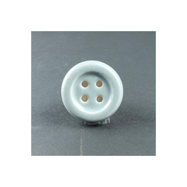 Gałka porcelanowa Blue Button