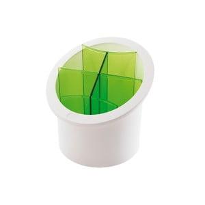 Zielony pojemnik na sztućce Snips Cutlery