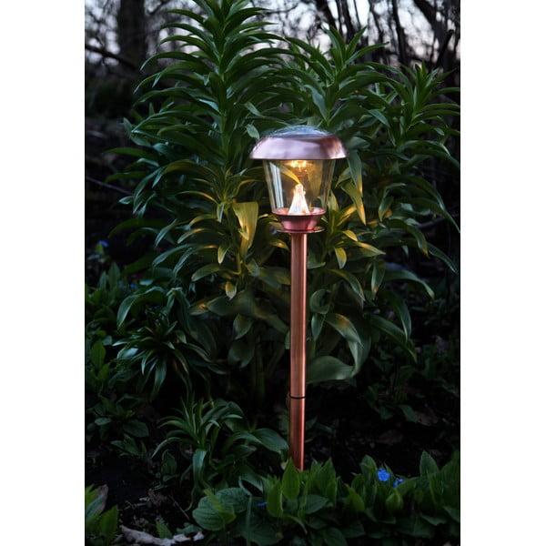 Miedziana lampa ogrodowa LED Best Season Pathlight