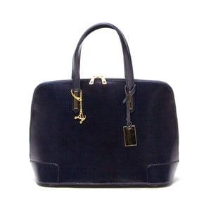 Skórzana torebka Luisa Vannini 364 Blu