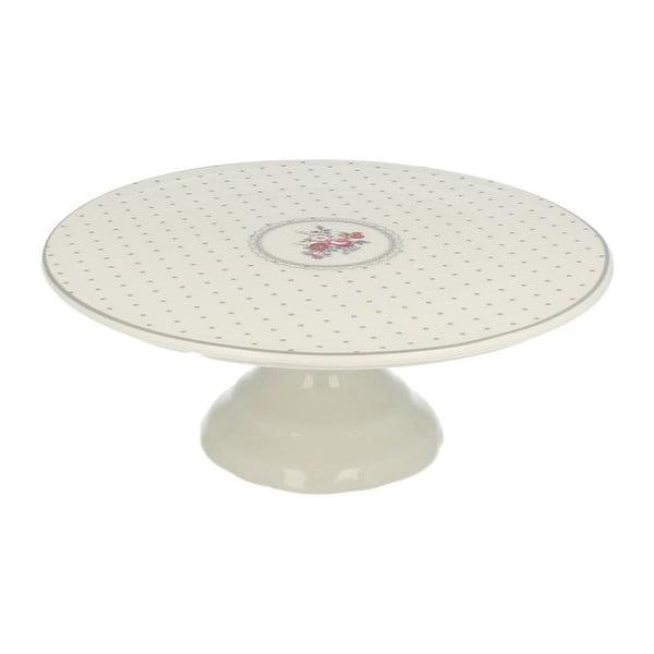 Patera na tort Grey Dots, 25 cm