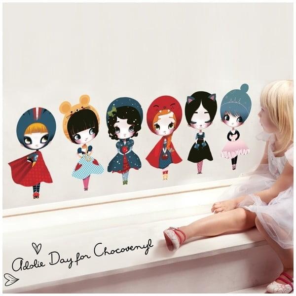 Naklejka Dress Up 8 Dolls