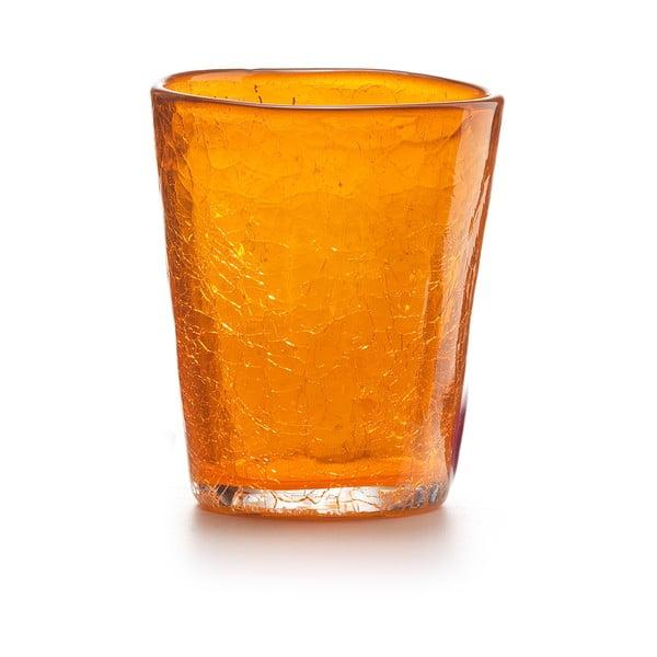 Zestaw 6 szt. szklanek Fade Ice, pomarańczowe
